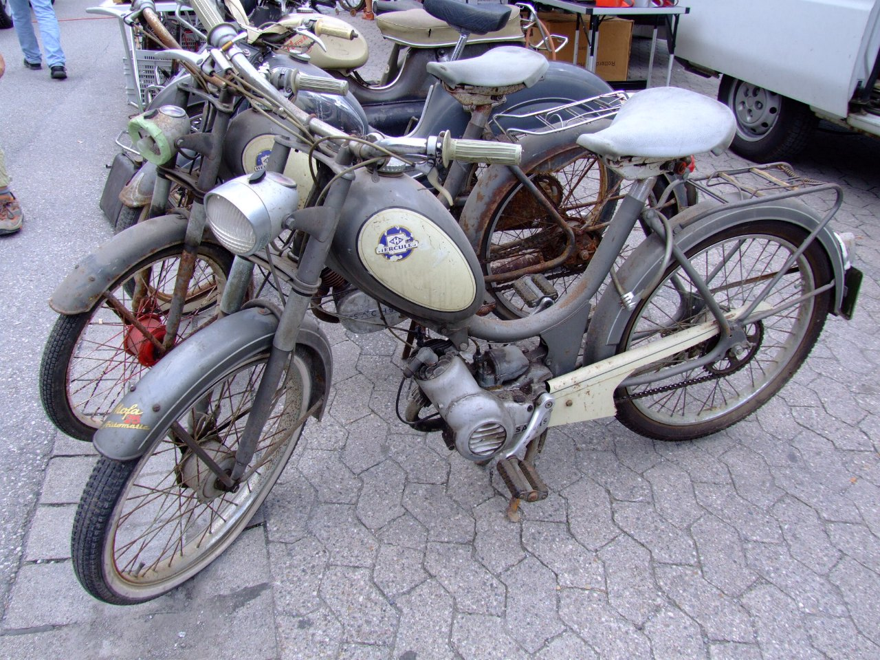 Hercules Mofa 25 Automatic ( 1956 )